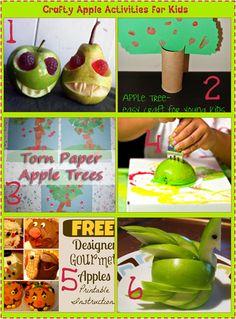 6 Crafty Apple Activities for Kids