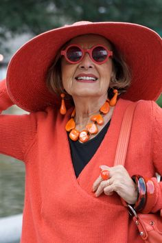 Advanced Style is a blog about the stylish older women of New York City that's been set up by Ari Seth Cohen.