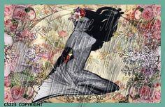 mermaid fabric, block mermaid, block steampunk, mermaid quilt, fabric block, quilt fabric, uniqu mermaid