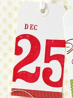 Save the Date Gift Tag - BHG
