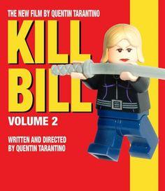 Lego Kill Bill Poster kill bill, movi poster, bill volum, lego art, lego poster, legos, lego movi, lego film, posters