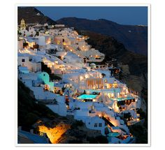 Santorini-soon, very soon.