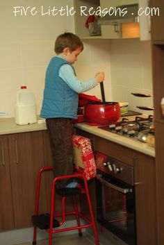 Kitchen Step/Stool