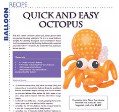 Quick and easy octopus more