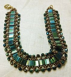 bead bead, beaded bracelets, seed beads, tila bead bracelets, tila bracelet