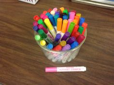 alphabet stampers for your word work center!