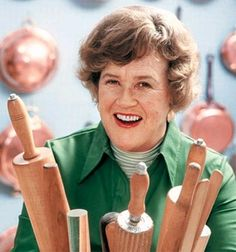 Julia Child--she would have turned 100 years old this week
