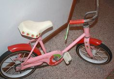Strawberry Shortcake Bike