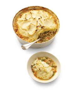 yummy and healthy shepherd's pie. Sounds good right now.