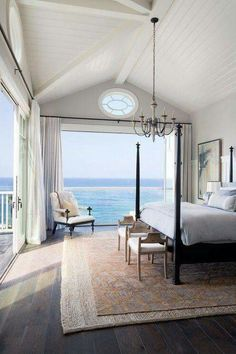 Bedroom by the sea..
