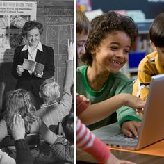 Then and Now: Education Technology in 1963 vs 2013  Some of the ways ed-tech has evolved in the United States over the last five decades. #edtech #technology