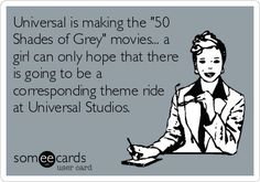 Oh My Freaking Stars!: 50 Shades & Theme Ride