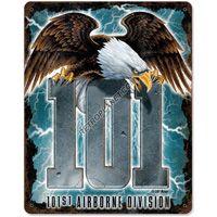 #101st Airborne Division Tin Sign  http://www.retroplanet.com/PROD/32401