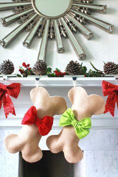 Christmas stocking for Daisy Mae - $35