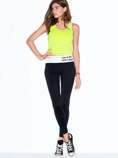 Yoga Legging - PINK - Victoria's Secret