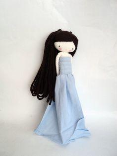 she, shiny princess rag doll