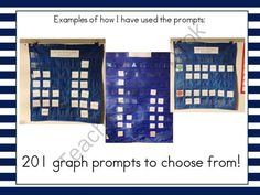 201 Daily Graph Prompts from Ms Ginas Class on TeachersNotebook.com -  (75 pages)  - 201 Daily Graph Prompts for circle time!  These graph