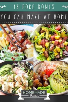 poke bowl recipes