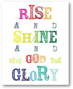 we all need to shine