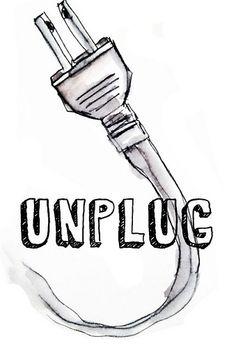 Unplug!  Unplug | Alisa Burke