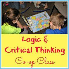 coop class, high school, homeschool coop, homeschool extra, critical thinking
