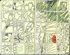 art journal, art lesson, art idea, project idea, leav