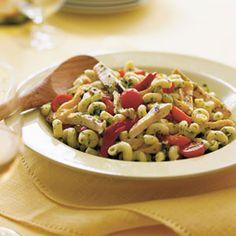 chicken dishes, food, pesto pasta, italian chicken, grill chicken, grilled chicken, pasta dish, recip, pastas