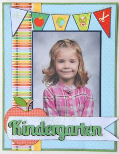 A great way to display your school pictures! Use the new Cricut Craft Room Exclusives K-12 images! #Cricut
