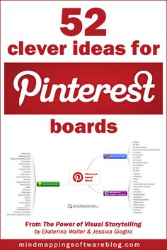 52 clever ideas for #Pinterest boards