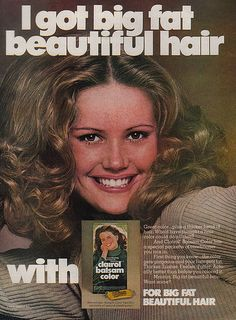 Clairol Balsam Color Advertisment 1976