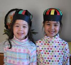 Kufi hat for #Kwanzaa. #ECE #Crafts