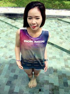 Imagine Dragons Women Shirt Girl Tank Tops White  by YesinThis, $14.99