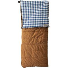 mountain trapper rectangle sleeping bag / cabela
