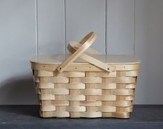 #DearMom I remember these picnic baskets from childhood. You'd laugh to hear how much they cost at the trendy shop today.