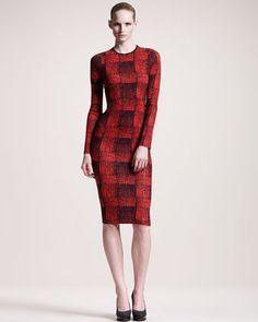 Checkered Jersey Dress by 10 Crosby Derek Lam.