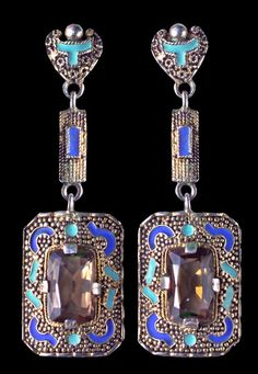 A pair of Art Deco g