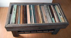 Coffee Table with Glass and Reclaimed wood by REfoundFurniture, $400.00