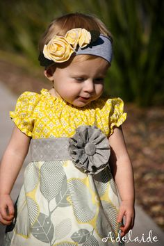 I would definitely dress my little girl like this! :)