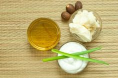 Homemade Hair Growth Product Recipes: Raw shea nut butter, aloe juice and EVOO are just three of the raw ingredients you can combine in numerous ways to create natural products that promote hair growth. Check out the recipes at the link.