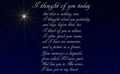 poem thoughts, grief, memori, heart, mother, inspir quot, sons, today, christma