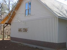 forum thread about Hardie siding, board and batten.