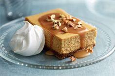 Pumpkin, Caramel & Pecan Cheesecake Recipe - Kraft Recipes