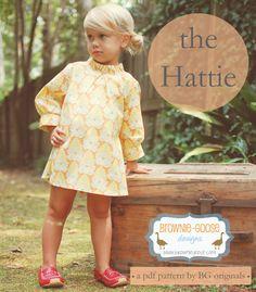 BG Originals The Hattie pdf pattern (dress or tunic) 6m-12