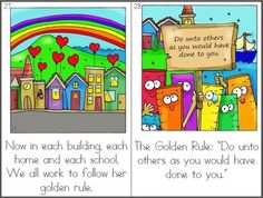 """This isn't free,  but it was just so cute that I had to pin!! """"The Golden Ruler: An Original Character Education Reader and Clipart"""" ....Follow for Free """"too-neat-not-to-keep"""" teaching tools & other fun stuff :)"""