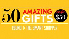Round 1 of Karma Kiss' Gift Guide, 50 Amazing Gifts Under $50 #holidays