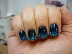 MAC Biker Blue with Cartwright glitter in planetarium