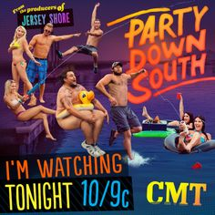 Y'all watching Party Down South with us TONIGHT at 10/9c?!