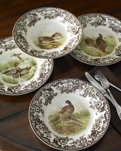 ♥⊱Spode, Woodland Bird⊰♥