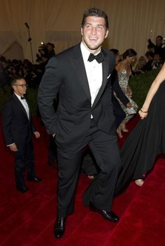 Tim Tebow on the Red Carpet (May 7, 2012)