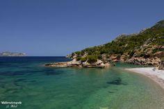S' Illot Beach, Alcúdia, Mallorca. Spain